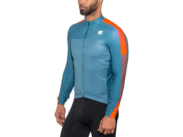 3dcb8ed86 Sportful Bodyfit Pro Thermal Bike Jersey Longsleeve Men blue at ...